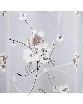 Seitenschal Yari mit Blumen-Motiv Detailbild