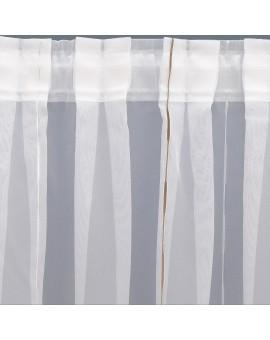Wohnwagen Store AURI weiß-beige Ansicht der Flachfalten