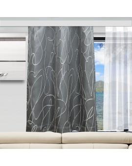 Wohnmobil-Gardine Joran in grau Beispielbild