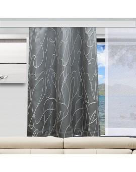 Wohnmobil-Vorhang Joran in grau Dekobeispiel