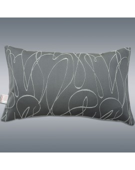 Dekokissen Joran in grau 50 x 30 cm Musterbild