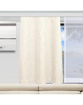 Wohnwagen-Dekoschal Joran in wollweiß Beispielbild