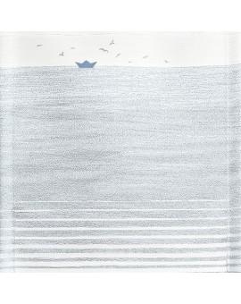 Stoffmuster Duna grau-blau 5129305