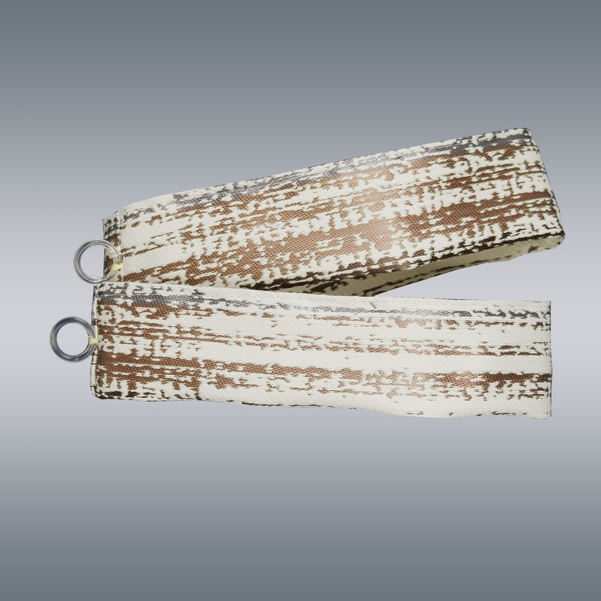 Raffhalter LIAM 2er-Set passend zum Caravan-Seitenschal LIAM beige-braun
