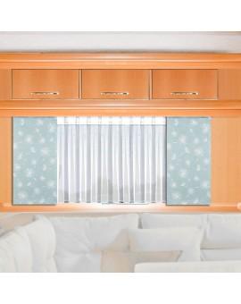 Caravan-Flächenvorhang Fresh 20cm breit | Beispiel mit Store Anna