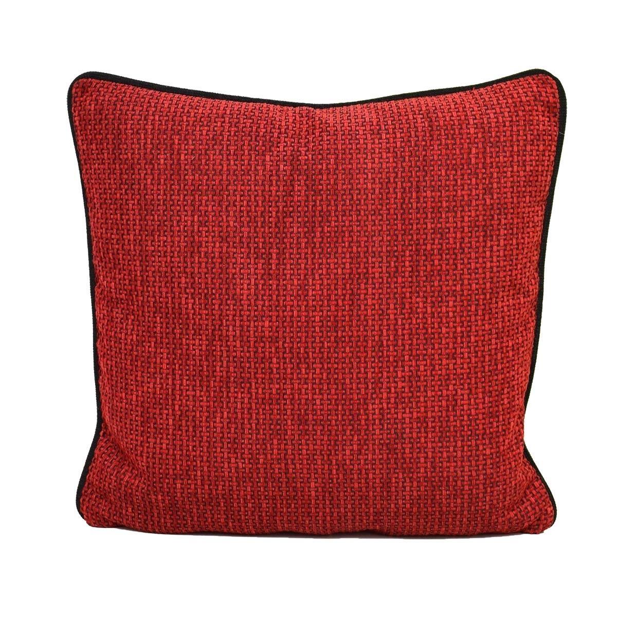Kissen Komfort mit Füllung Rot 45 x 45 cm