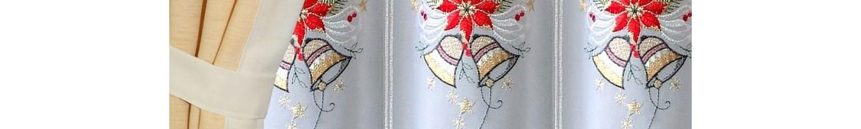 Weihnachts-und Winter-gardinen