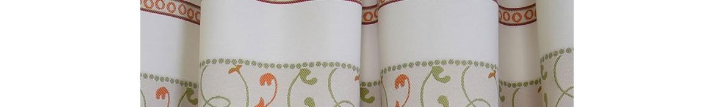 Schals mit Schlaufen oder Reihband